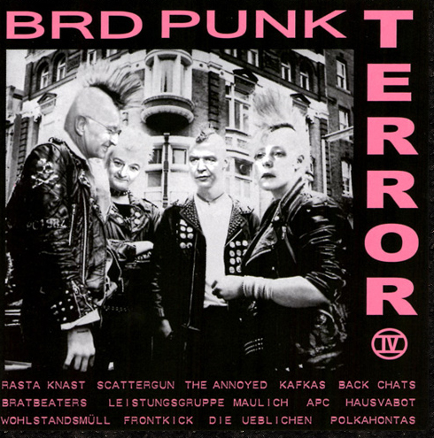BRD Punk Terror 4 CD
