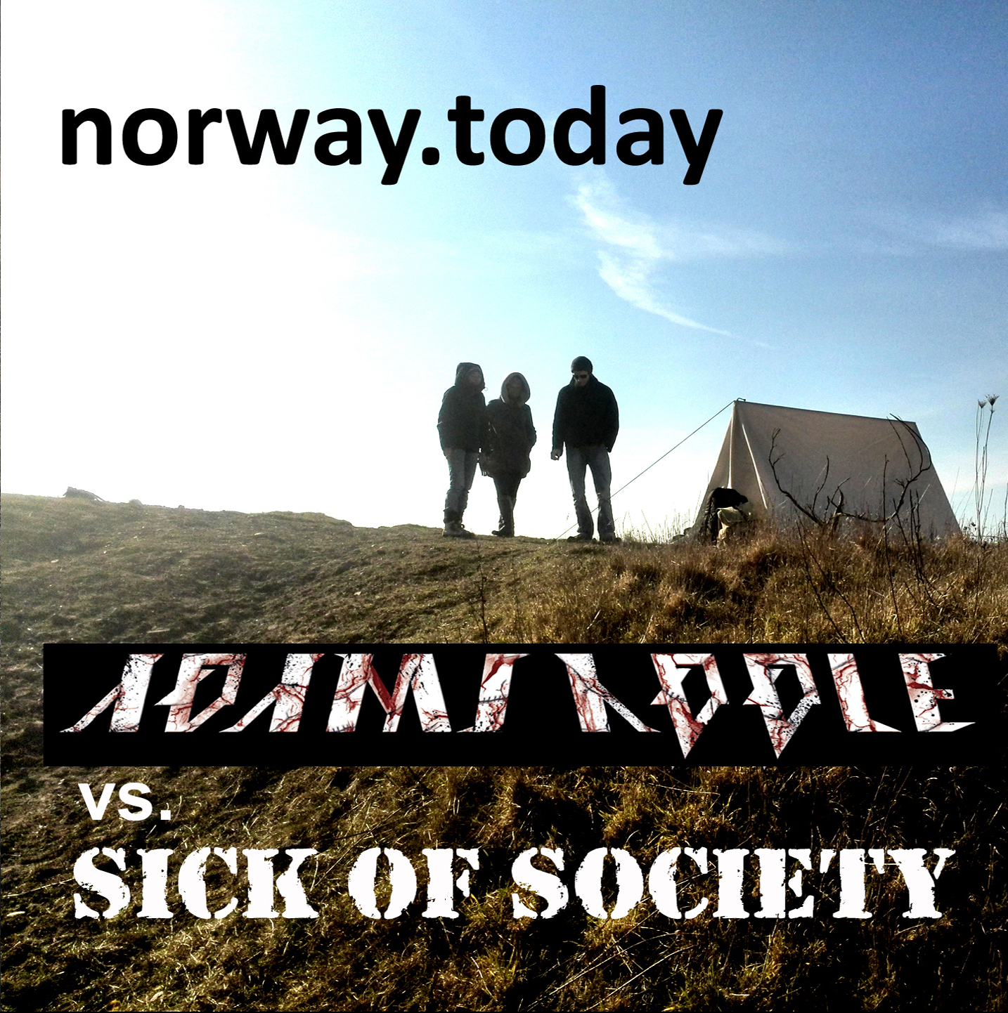 Adams Apple/ Sick of Society - norway today Split EPCD