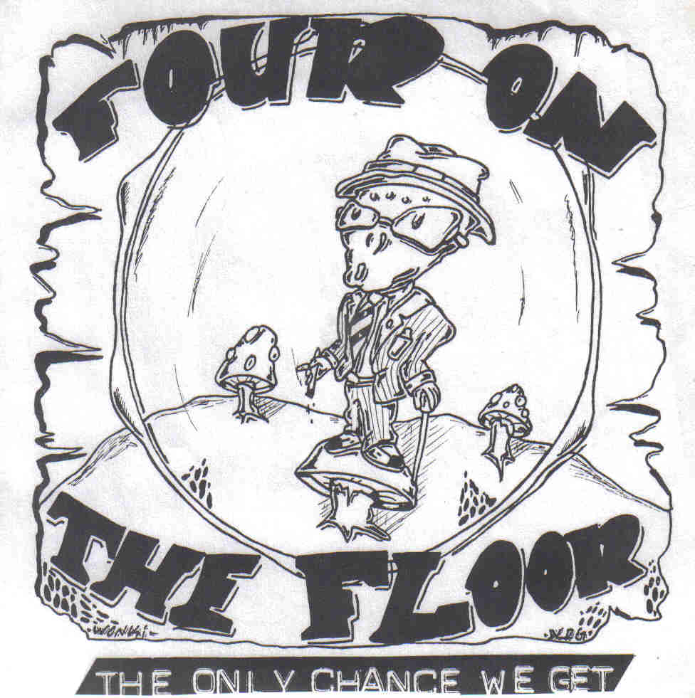 FOUR ON THE FLOOR - The only chance 4-Song-EP