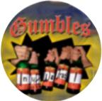 "Gumbles ""In Duff we trust"" Button"