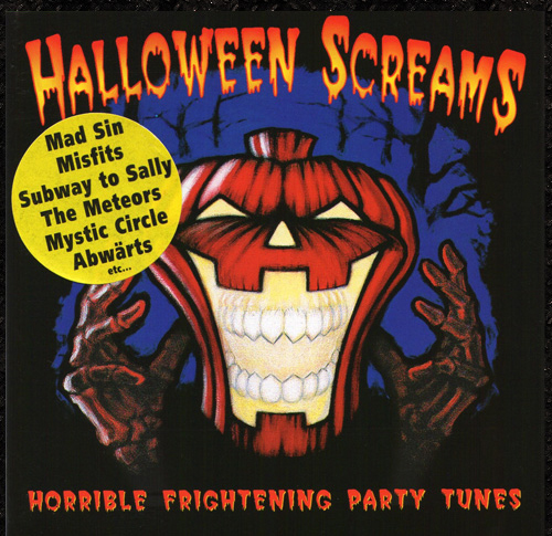 Halloween Screams CD