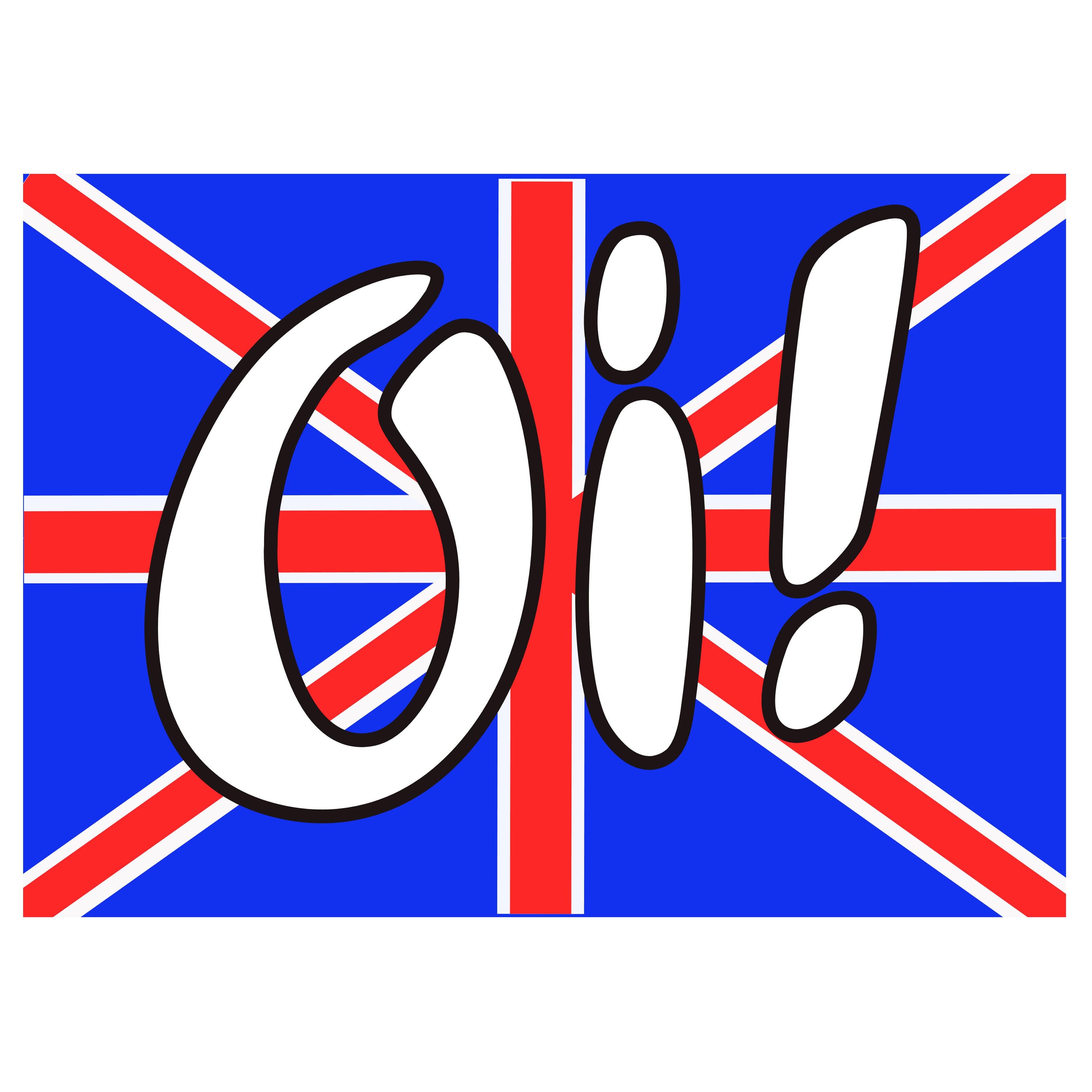 Oi! Sticker