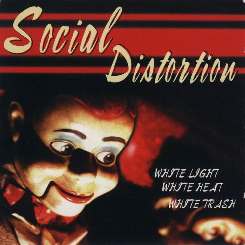 Social Distortion ‎– White Light White Heat White Trash LP